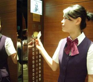 电梯楼层管理系统